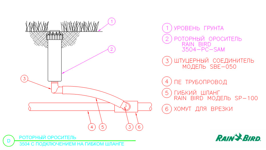 Монтажная схема 3504